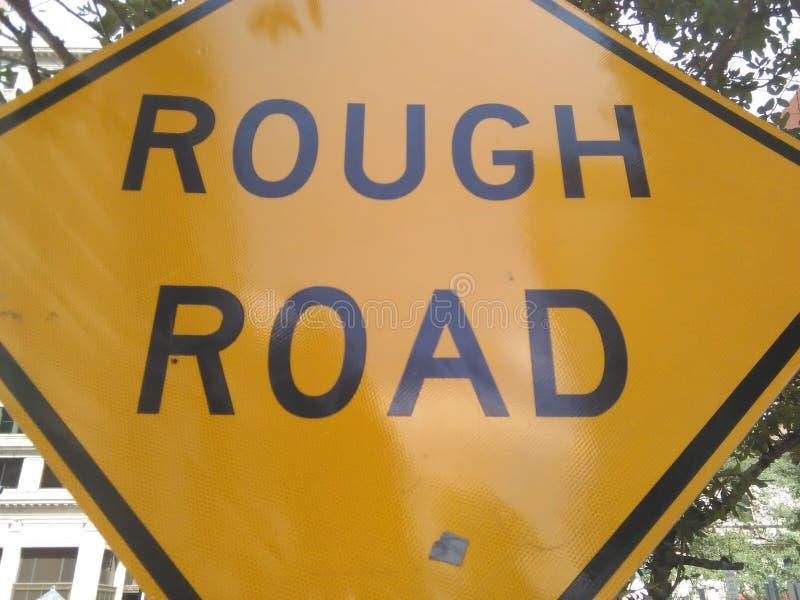 дорога грубая стоковое фото rf
