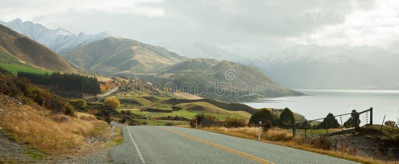 дорога сценарная стоковое фото rf