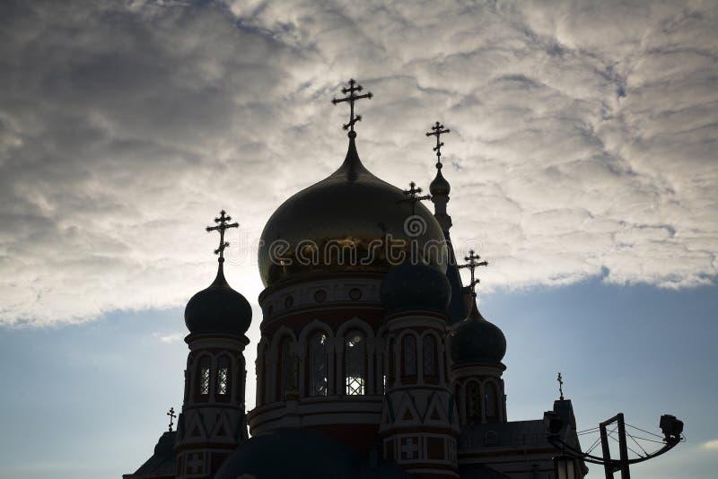 ортодоксальность церков стоковое изображение