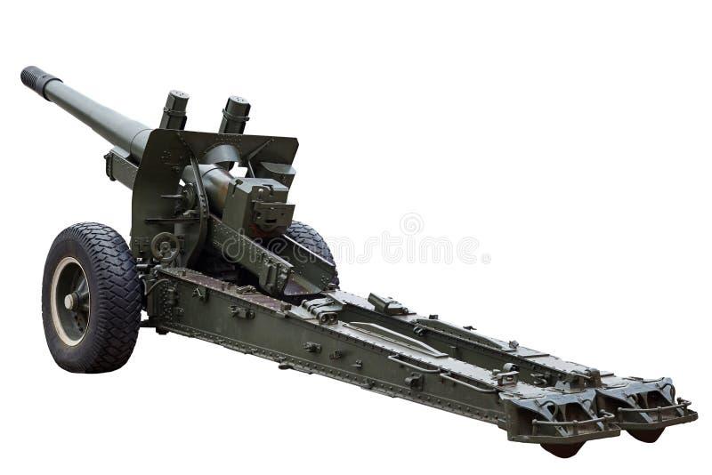 Оружие артиллерии Оружие Второй Мировой Войны стоковое изображение rf