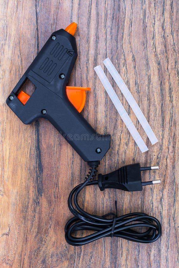 оружие Горяч-melt, инструменты конструкции стоковое изображение