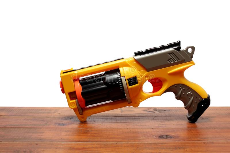 Оружие игрушки стоковое фото rf