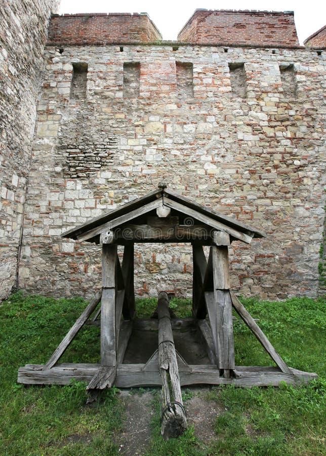 Оружие крепости стоковое изображение