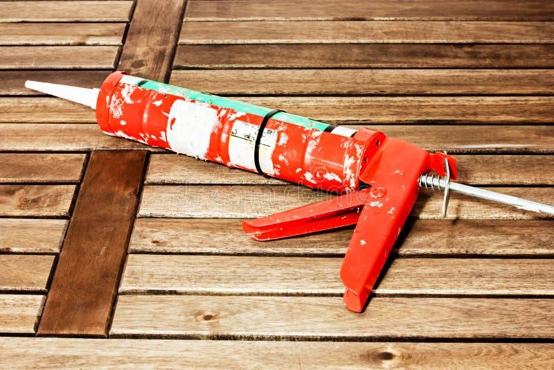 Оружие расчеканки стоковое фото rf