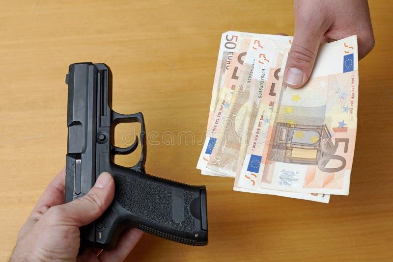 Оружия Τrade Торговать rms ` Î стоковое фото rf