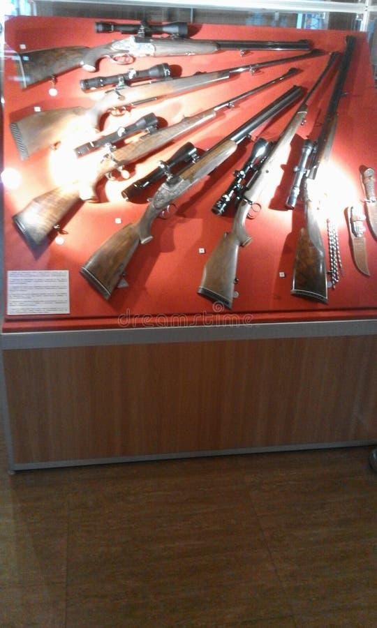 Оружия музея стоковое изображение rf