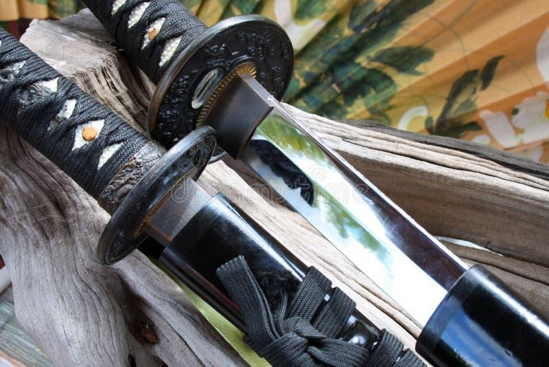оружия самураев стоковое изображение