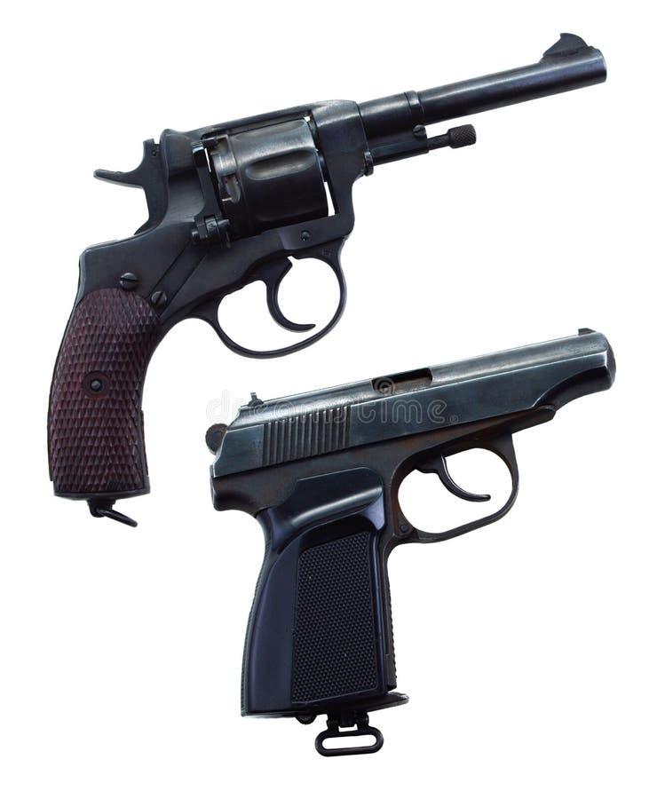 2 оружия стоковое фото