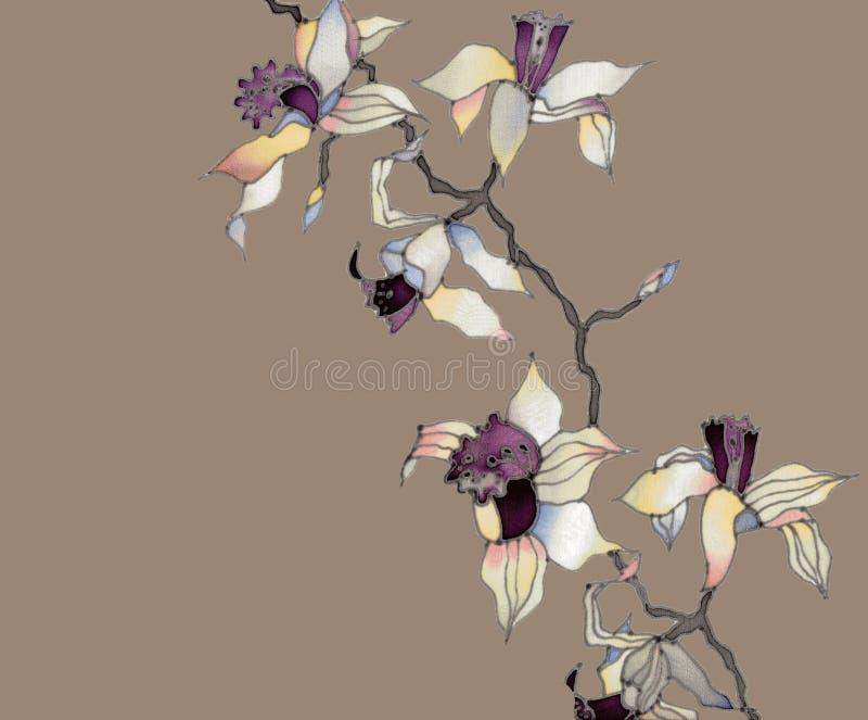 орхидея ветви бесплатная иллюстрация