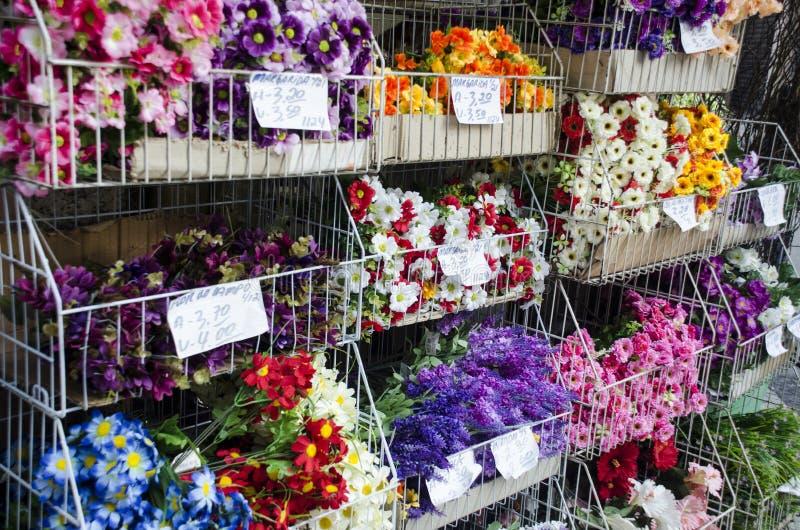 орхидеи mong рынка kong kok hong цветка стоковое изображение