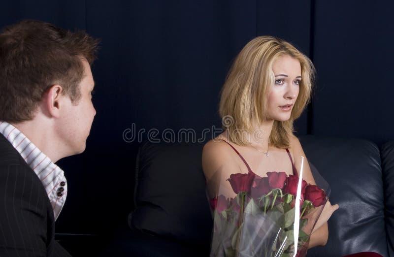 осаженные розы стоковая фотография rf