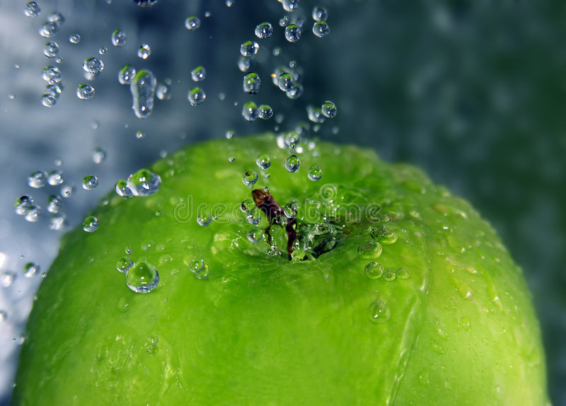 освежать яблока стоковые фото