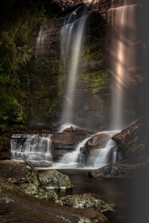 Освежая водопад Macumba стоковое изображение rf