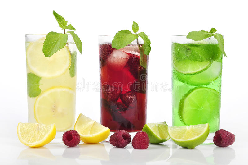 Освежая пить стоковая фотография rf