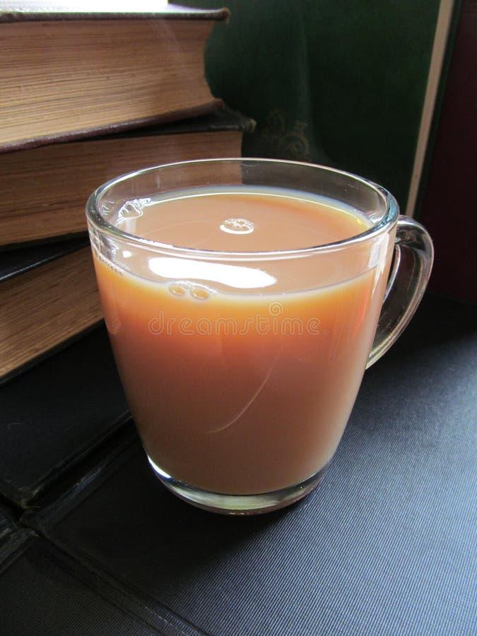 Освежая чашка чаю стоковое изображение