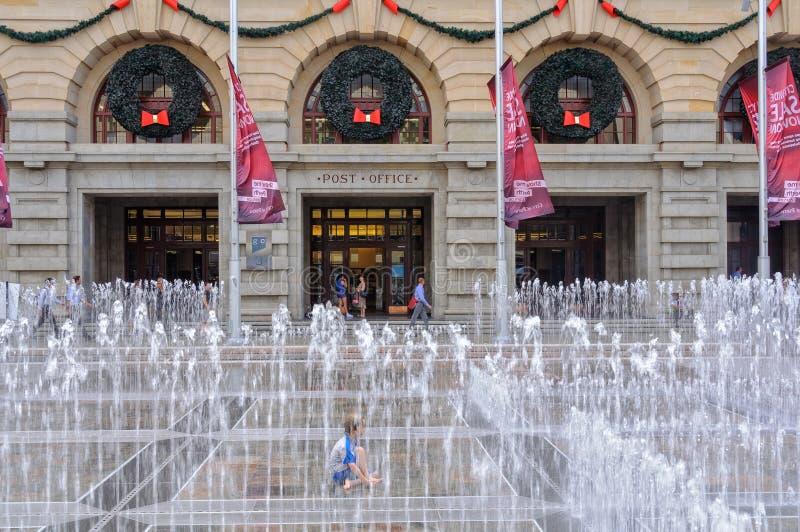 Освежение фонтана - Перт стоковое изображение rf