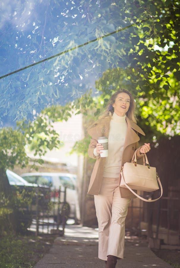 Освежите с кофе стоковая фотография