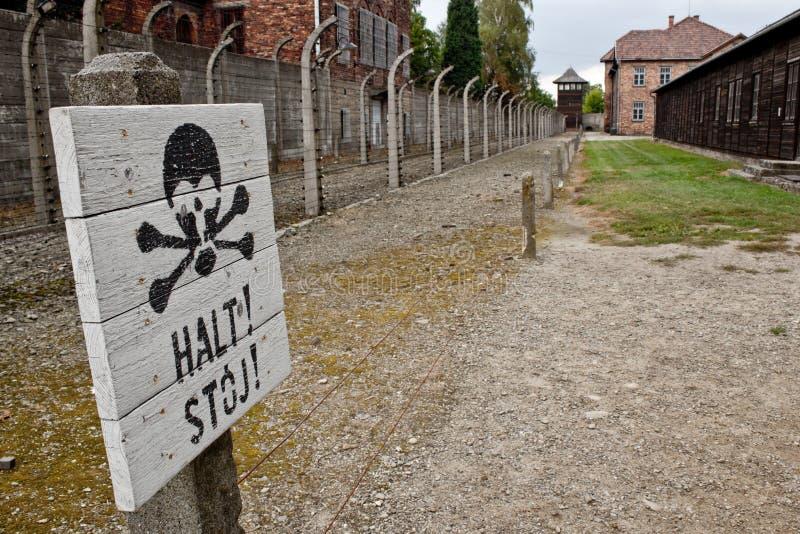 Освенцим стоковые фотографии rf