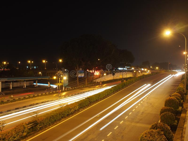 Осветите тропки стоковое фото rf