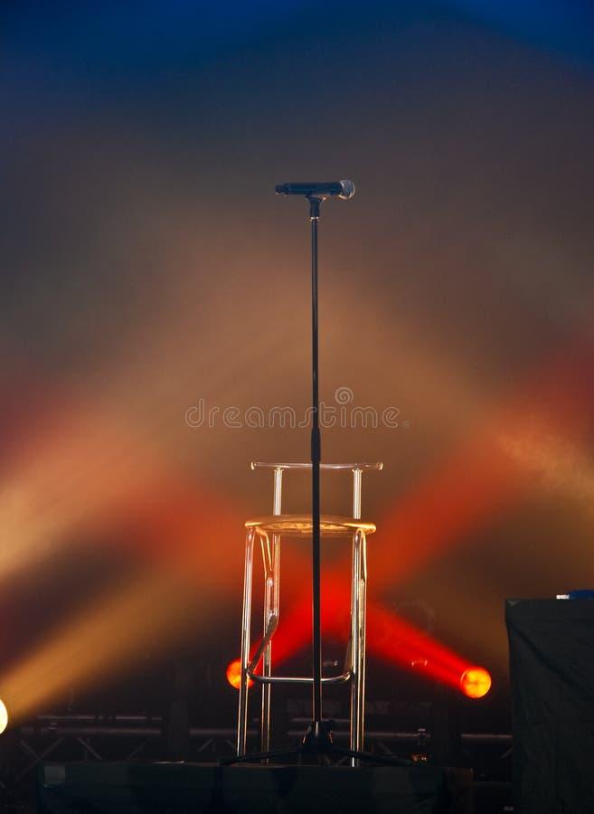 освещает mic стоковые фотографии rf