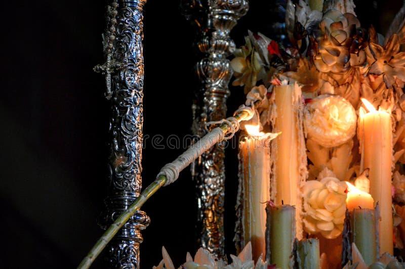 Освещать свечи стоковое фото