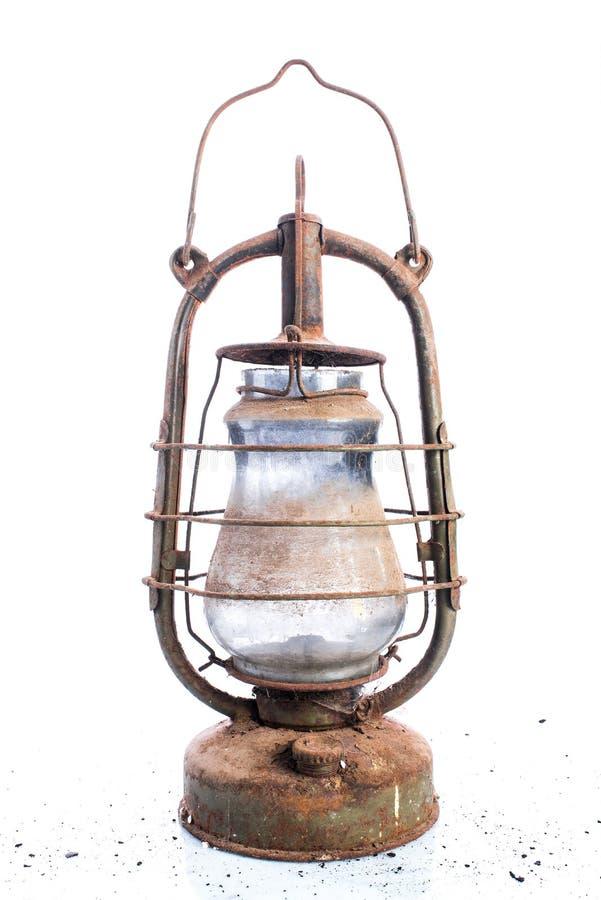 Освещение газа на белой предпосылке, ретро и винтажном объекте, collectibles и аукционах стоковые фотографии rf