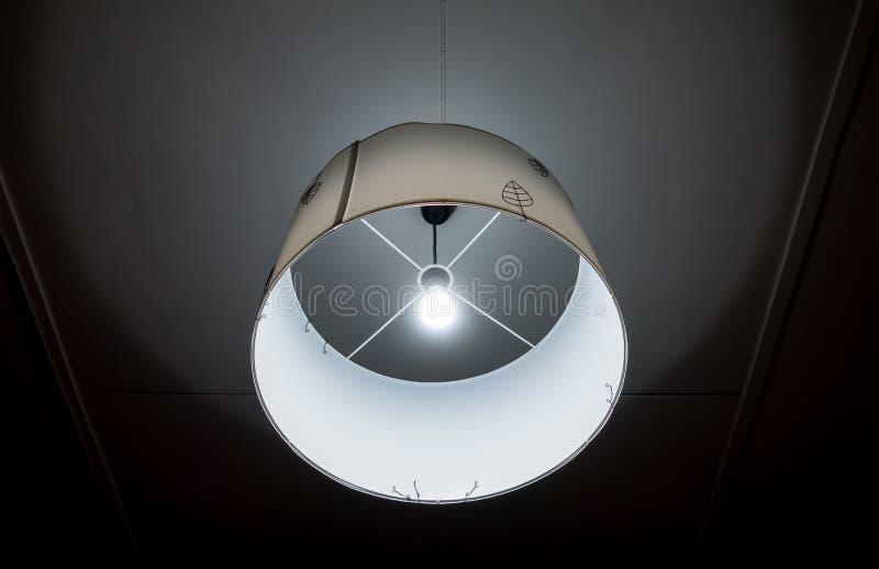 Освещение потолка дома круглое бумажное стоковые изображения