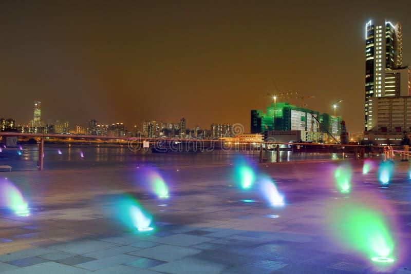 освещение прогулки схвата Kwun стоковое фото rf