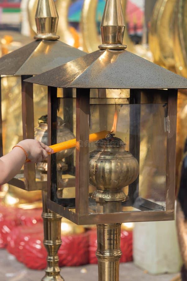 Освещение свечи стоковое изображение rf