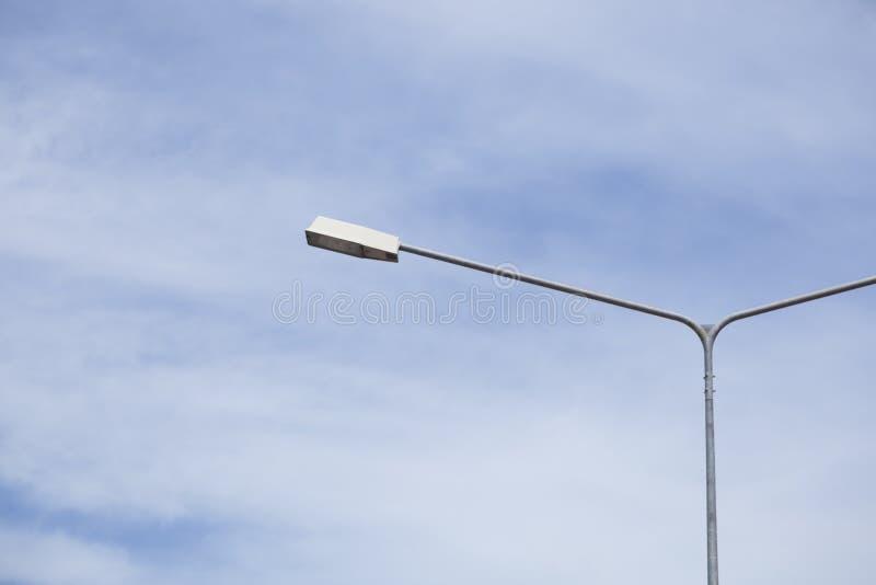 Освещение столба лампы стоковое фото