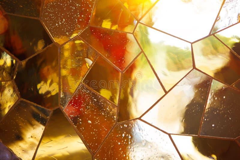 освинцованное окно стоковое фото