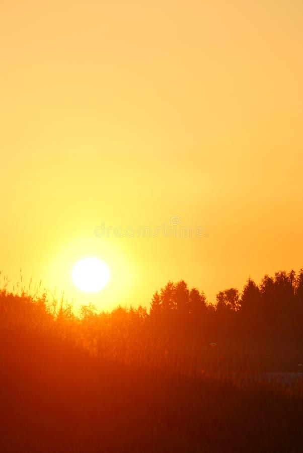 освободите предыдущий восход солнца стоковая фотография