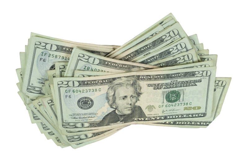 Освободите стог денег стоковые изображения rf