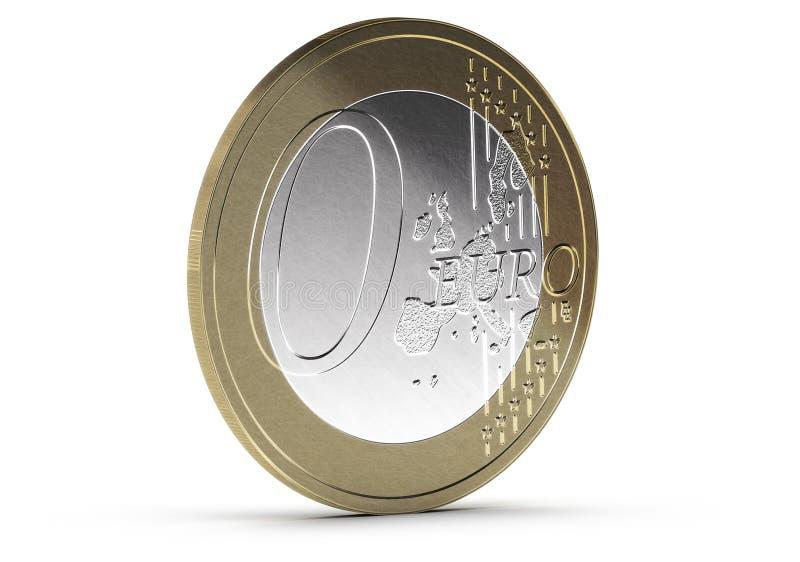 Освободите, zero евро иллюстрация штока