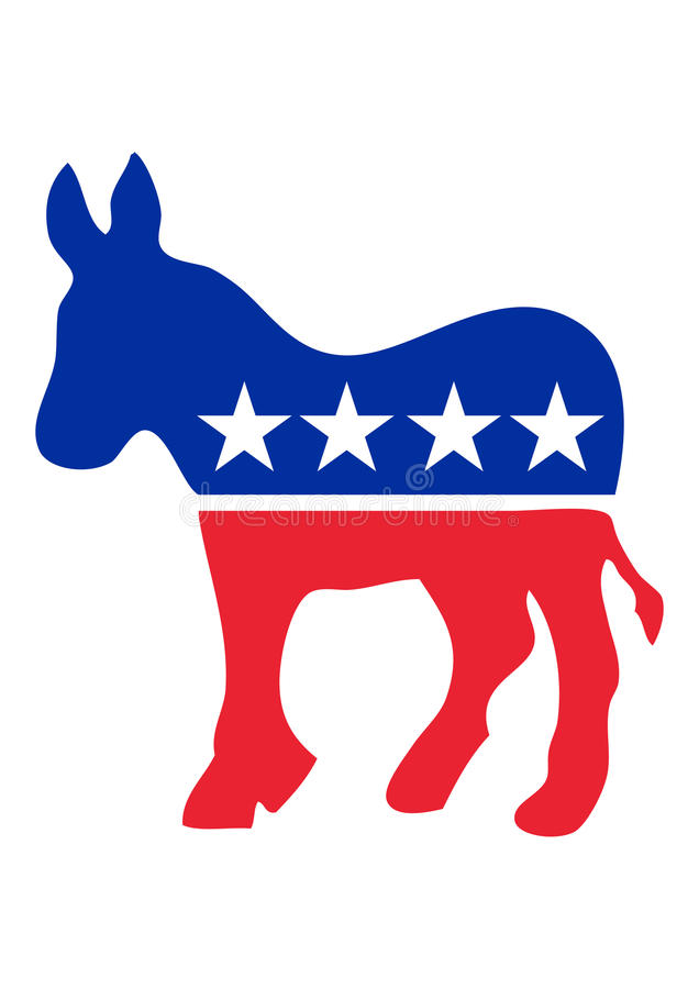 осел демократа