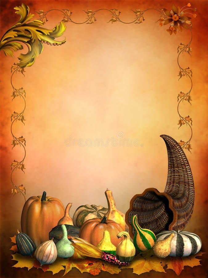осенние gourds иллюстрация вектора