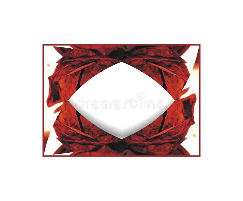 Осенняя рамка текста с романтичным цветом и элементами фантазии стоковая фотография