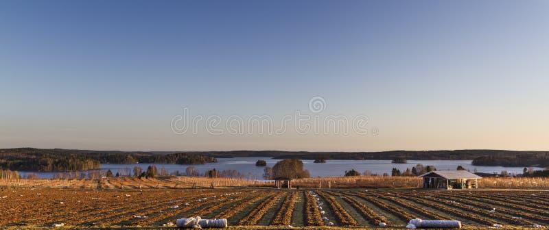 осенняя сельская местность стоковые фото