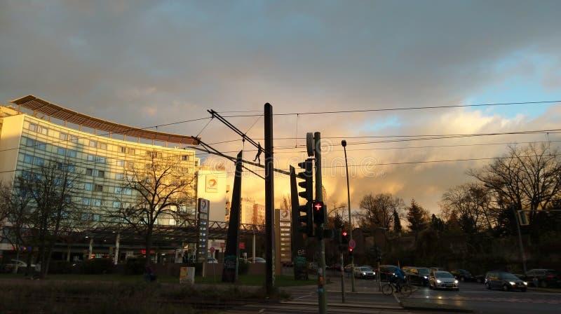 Осень Берлина стоковые изображения rf