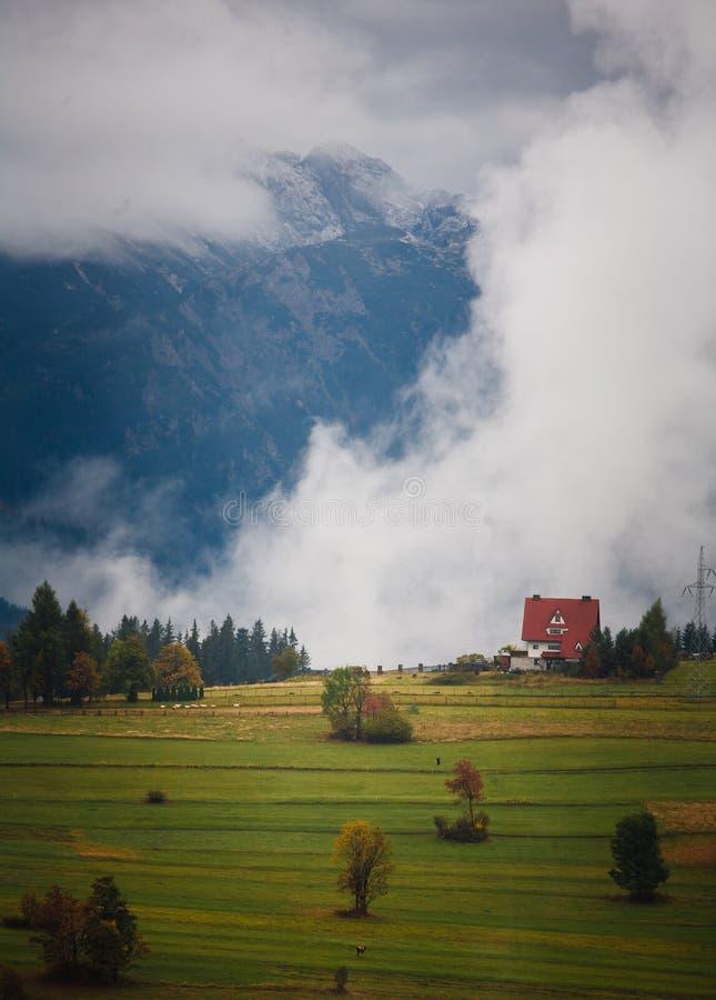 осень выступает tatra s стоковые изображения rf