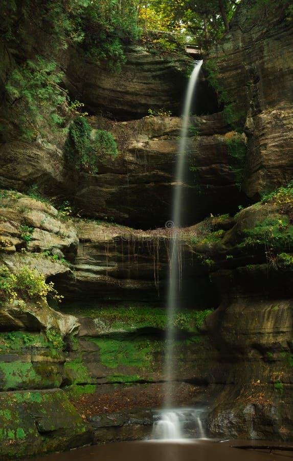 Осень в вспыльчивом каньоне стоковое изображение rf