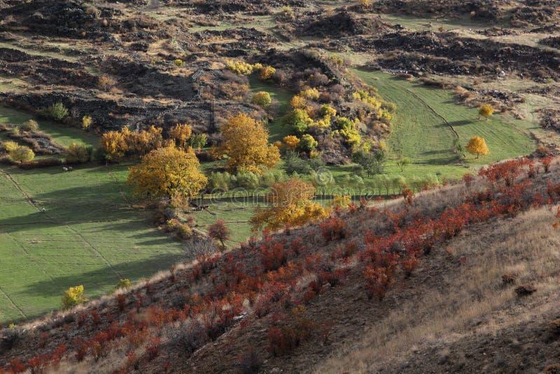 Осень в горах Армении стоковое изображение