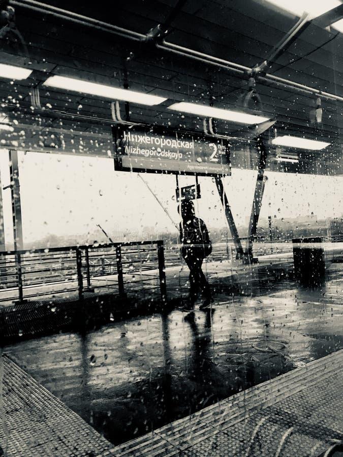 Осень в городе стоковые изображения