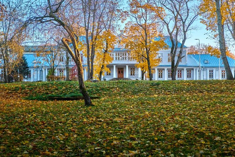 Осень в городе haapsalu эстония стоковые изображения