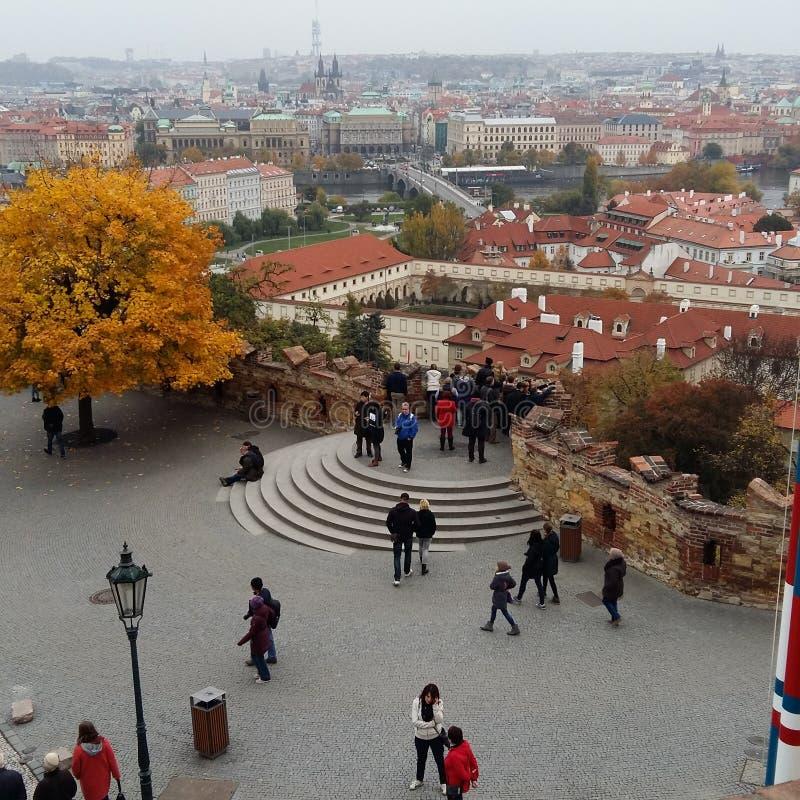 Осень в городе Праги стоковые изображения rf