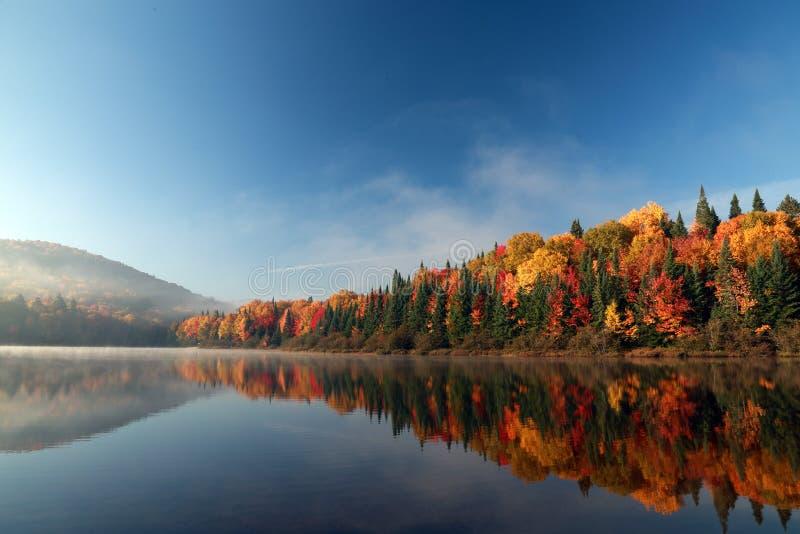 Осень в Квебеке стоковое фото