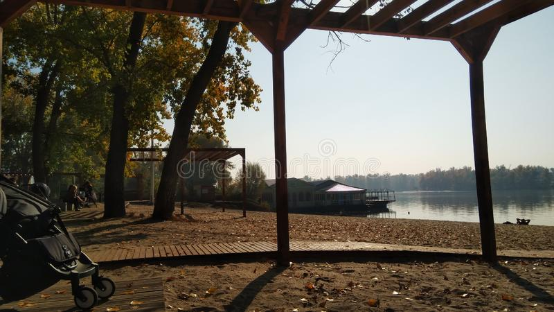 Осень в Киеве стоковое изображение