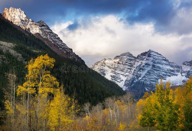 Осень в Колорадо стоковое изображение