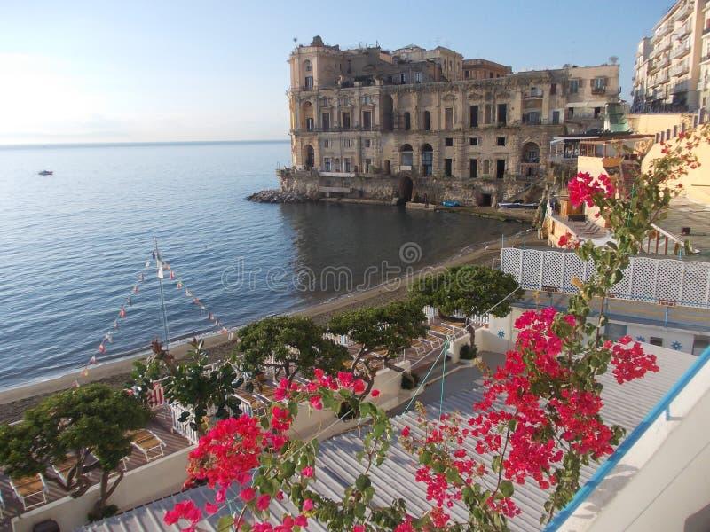 Осень в Неаполь стоковое изображение rf