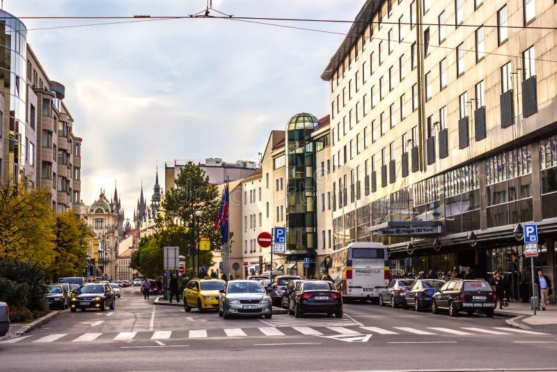 Осень в Праге, чехии, Европе стоковая фотография rf